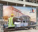 Banner Drucken- Construction- Window2Print
