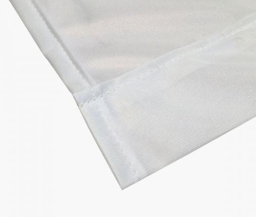 Hissfahne-  Polyester 115g - 150 x 300 cm- mit Hohlsaum und Karabinerhaken I Window2Print