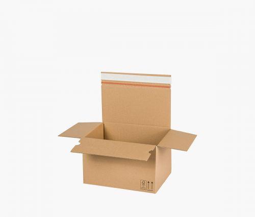 Faltkarton AUTO 50 - rücksendekarton - 10 Stück ✦ Window2Print