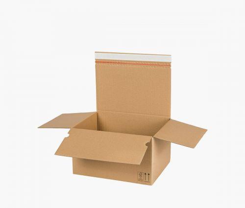 Faltkarton AUTO 70 - rücksendekarton - 10 Stück ✦ Window2Print