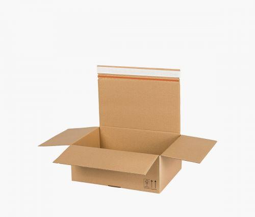 Faltkarton AUTO 90 - rücksendekarton - 10 Stück ✦ Window2Print