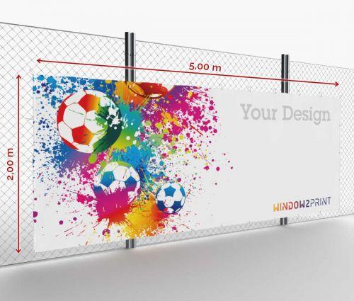 Werbebanner - Frontlit - 500 x 200 cm