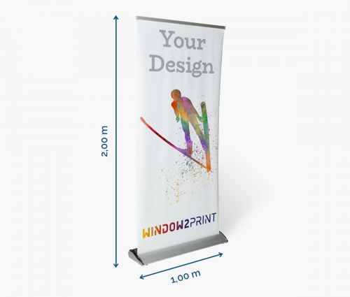 Roll Up Banner - Window2Print