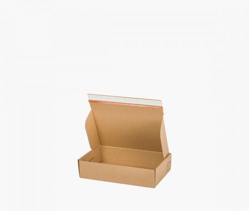 Faltkarton FAST 10 - rücksendekarton - 10 Stück ✦ Window2Print