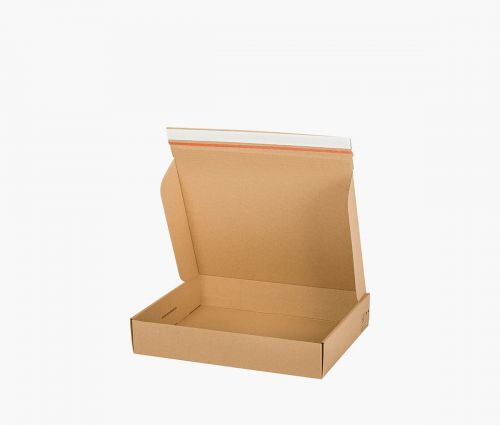 Faltkarton FAST 30 - rücksendekarton - 10 Stück ✦ Window2Print