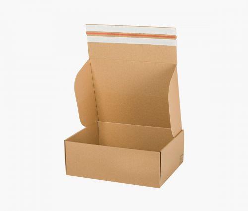 Faltkarton FAST 50 - rücksendekarton - 10 Stück ✦ Window2Print