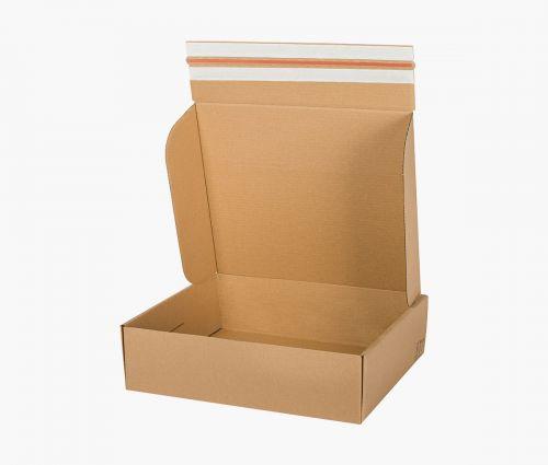Faltkarton FAST 70 - rücksendekarton - 10 Stück ✦ Window2Print