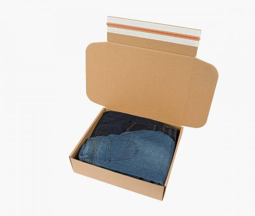 Faltkarton FAST 70 - Karton mit Selbstkleber – und Aufreißstreifen ✦ Window2Print