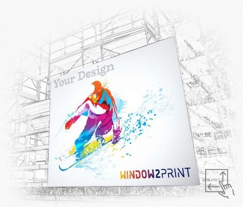 PVC Werbebanner - Window2Print