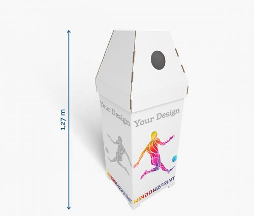Karton Schütten 35 x 35 x 127 cm - Window2Print