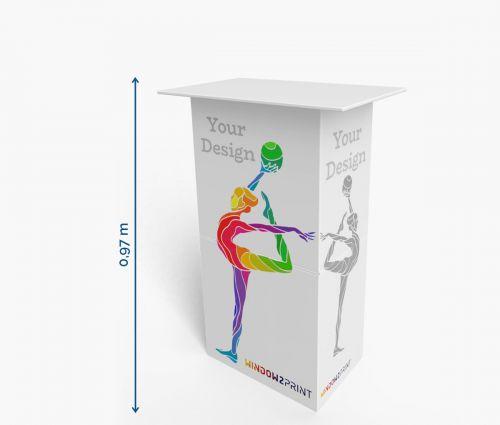 Karton Theken 70 x 42 x 97 cm - Window2Print