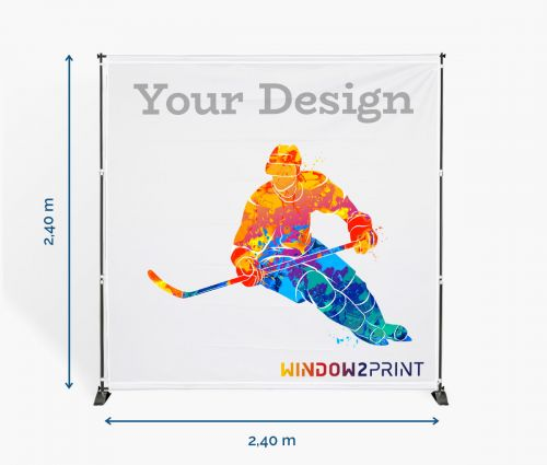 Messewand simple - Window2Print