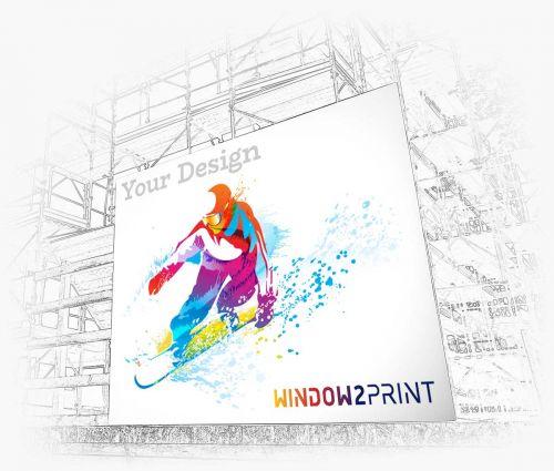 Banner Drucken - Window2Print