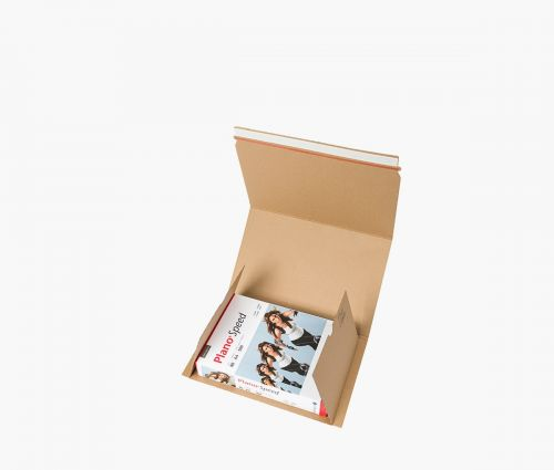 Karton - Versandtasche L - 20 Stück ✦ Window2Print