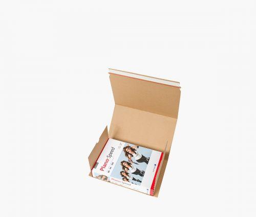 Karton - Versandtasche M - 20 Stück ✦ Window2Print