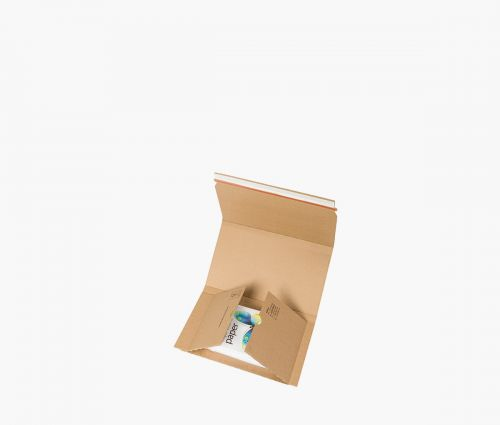 Karton - Versandtasche S - 20 Stück ✦ Window2Print
