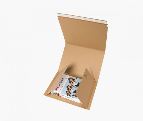 Karton - Versandtasche XL - 20 Stück ✦ Window2Print