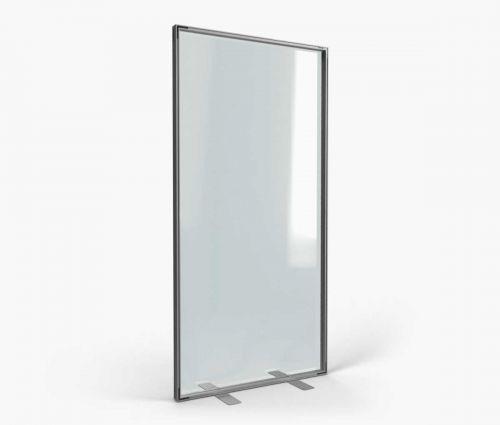 Schutzwand für Innen 100 x 200 cm - Window2Print