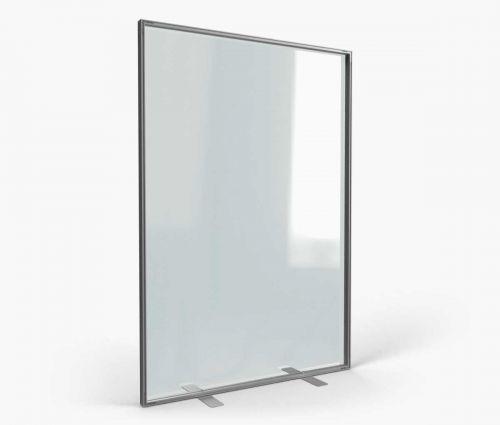 Schutzwand für Innen 138 x 200 cm ✦ Window2Print