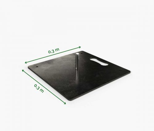 Standplatte 30 cm