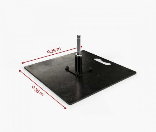 Standplatte 35 cm