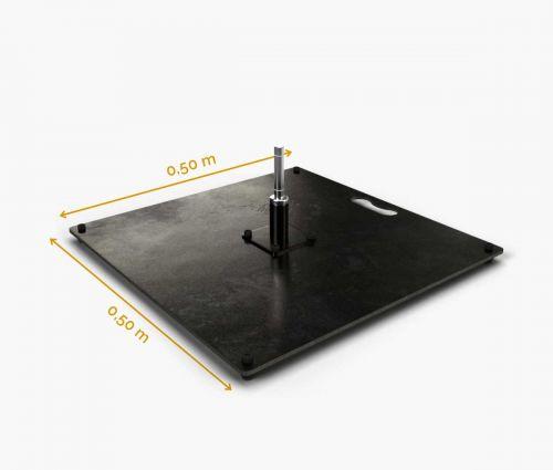 Standplatte 50 cm (15 kg)