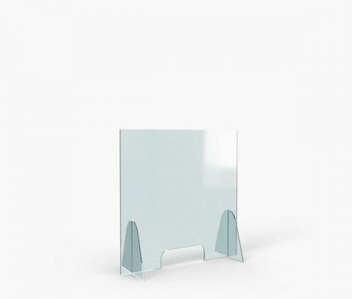 Thekenschutzwand 80 x 80 cm ✦ Window2Print