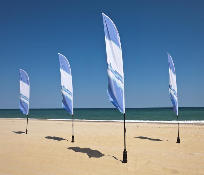 Beachflags kaufen bei Window2print